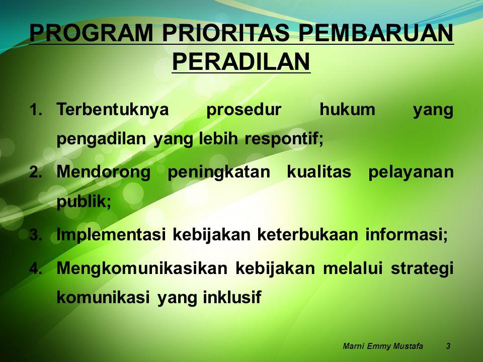F A K T A  Kurang lebih 49 juta anak Indonesia tidak memiliki akta kelahiran;  Lebih dari 50% dari Perempuan Kepala Keluarga tidak memiliki akta nikah;  Lebih dari 70% dari anak-anaknya tidak memiliki akta kelahiran Sumber: AIPJ bekerjasama dengan Pusat Kajian Perlindungan Anak UI (PUSKAPA UI) Marni Emmy Mustafa 4