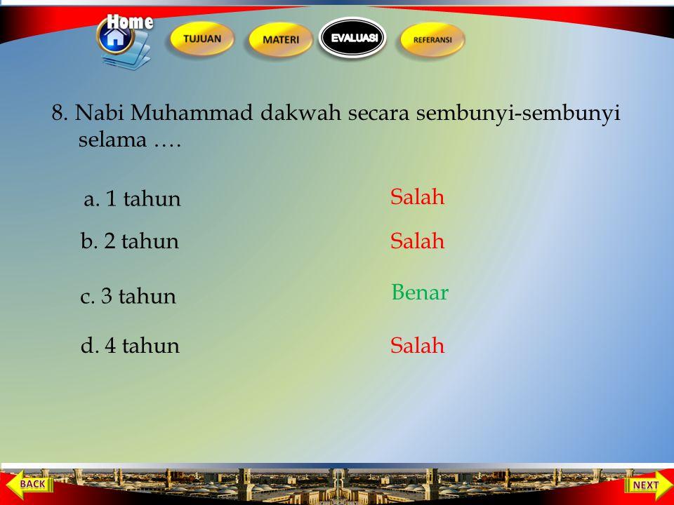 Orang yang pertama masuk Islam dari golongan anak-anak adalah.... 7 a. Utsman bin Affan b. Umar bin Khatab c. Ali bin Abi Thalib d. Abu Bakar Salah Be