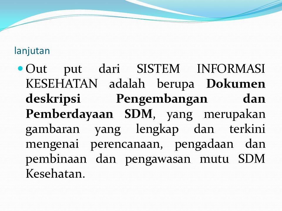 TUJUAN Memberikan acuan atau panduan bagi berbagai pihak yang terkait dengan Pengembangan dan Pemberdayaan SDM baik Pusat maupun di Daerah.