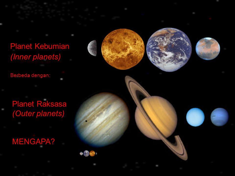 Satelit Es (Icy Satellites) Mekanika orbital dari satelit Saturnus sangat kompleks.