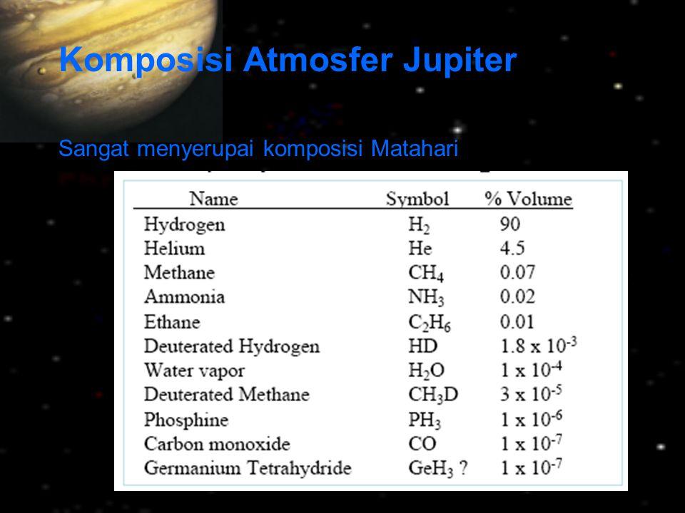 Triton: satu-satunya satelit besar Neptunus Ukuran dan kerapatan hampir sama dengan Pluto – Triton: R = 1350 km; ρ = 2,08 g/cm 3 – Pluto: R = 1140 km; ρ = 2,07 g/cm 3 orbit retrograde dan sangat miring –Triton merupakan Pluto yang terperangkap .