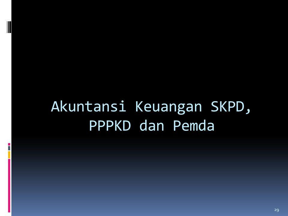 Akuntansi Keuangan SKPD, PPPKD dan Pemda 29