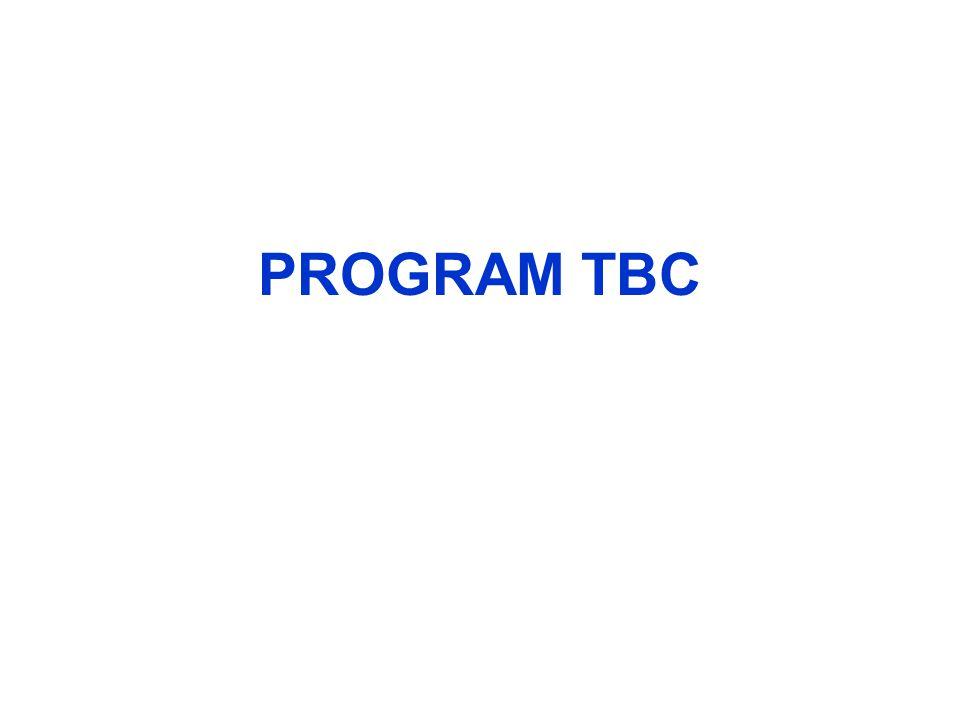 PROGRAM TBC