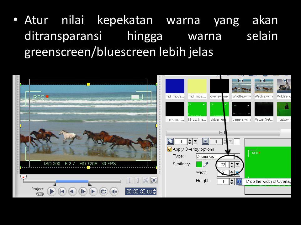 BAHAN PRAKTIKUM DOWNLOAD VIDEO SOURCE PADA ALAMAT : www.stmikprofesional.ac.id/dowload/multimedia The Chroma Key Effect.avi (18.45 MB) Latargs.wmv (31.5 MB)