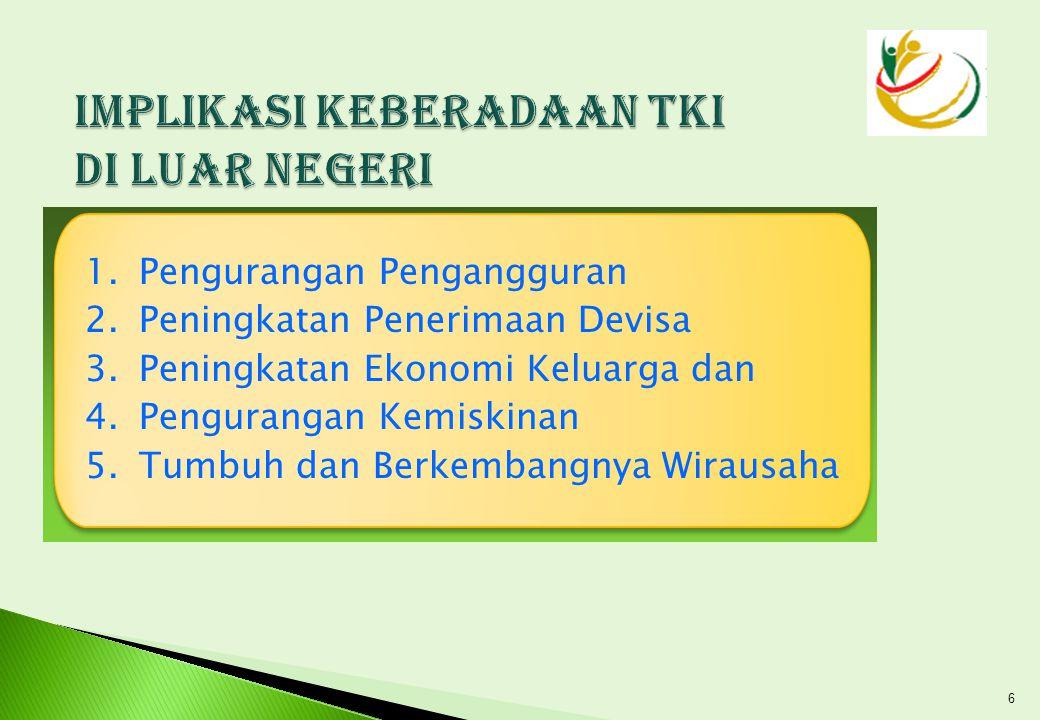 Inpres No 6 Tahun 2006 tentang Reformasi Kebijakan Penempatan dan Perlindungan TKI  Peraturan Presiden no.