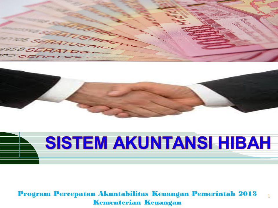 LOGO 1 Program Percepatan Akuntabilitas Keuangan Pemerintah 2013 Kementerian Keuangan