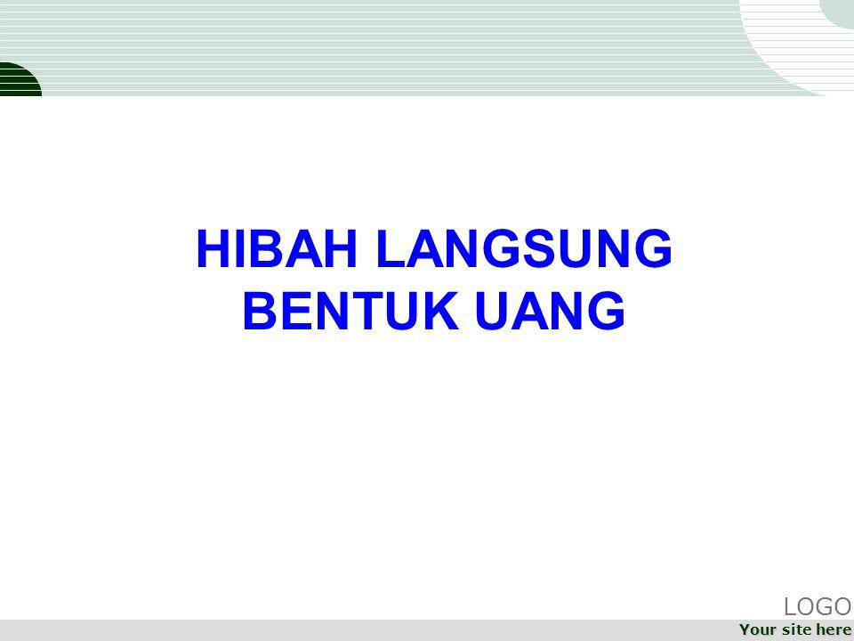HIBAH LANGSUNG BENTUK UANG LOGO Your site here