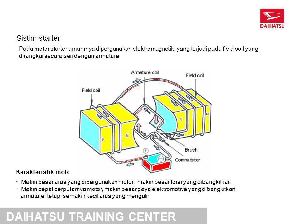 Motor starter konvensional DAIHATSU TRAINING CENTER
