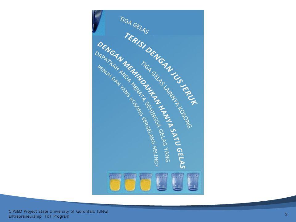 Sebuah Rencana Usaha yang Strategis merundingkan: CIPSED Project State University of Gorontalo [UNG] Entrepreneurship ToT Program 16 Operasional Ekonomi ManagementStrategi Kompetisi Pasar