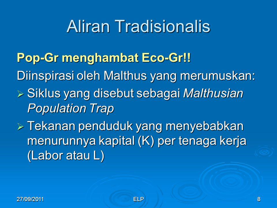ELP8 Aliran Tradisionalis Pop-Gr menghambat Eco-Gr!.