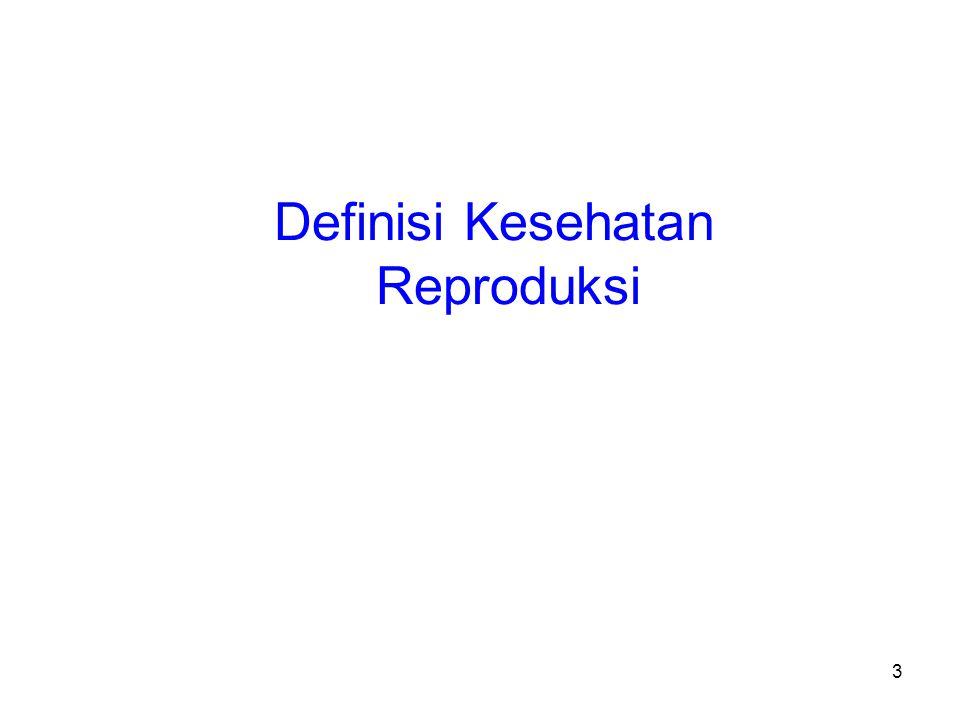 54 Human Sexuality and Gender Relations Sasaran yang bersifat ganda: –Mendorong perkembangan seksualitas yang bertanggung jawab yang memungkinkan hubungan antar jenis yang adil dan saling menghormati –Menjamin agar pria dan wanita mempunyai akses terhadap informasi, edukasi, dan pelayanan yang dibutuhkan untuk mencapai kesehatan seksual yang baik dan melaksanakan hak dan tanggung jawab reproduksi mereka