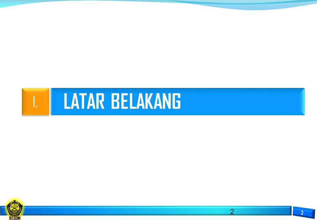 LATAR BELAKANG 2 I.