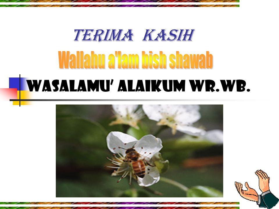 7 TERIMA KASIH Wasalamu' alaikum wr.wb.