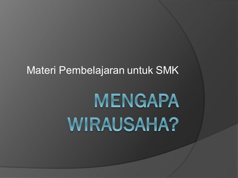 Materi Pembelajaran untuk SMK