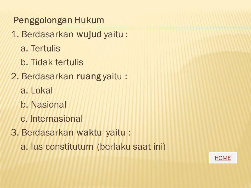 HOME Tata Urutan Peraturan Perundang-undangan (TAP MPR No. III/MPR/2003) sebagai berikut : 1. Undang – Undang Dasar 1945; 2. Ketetapan MPR-RI; 3. Unda