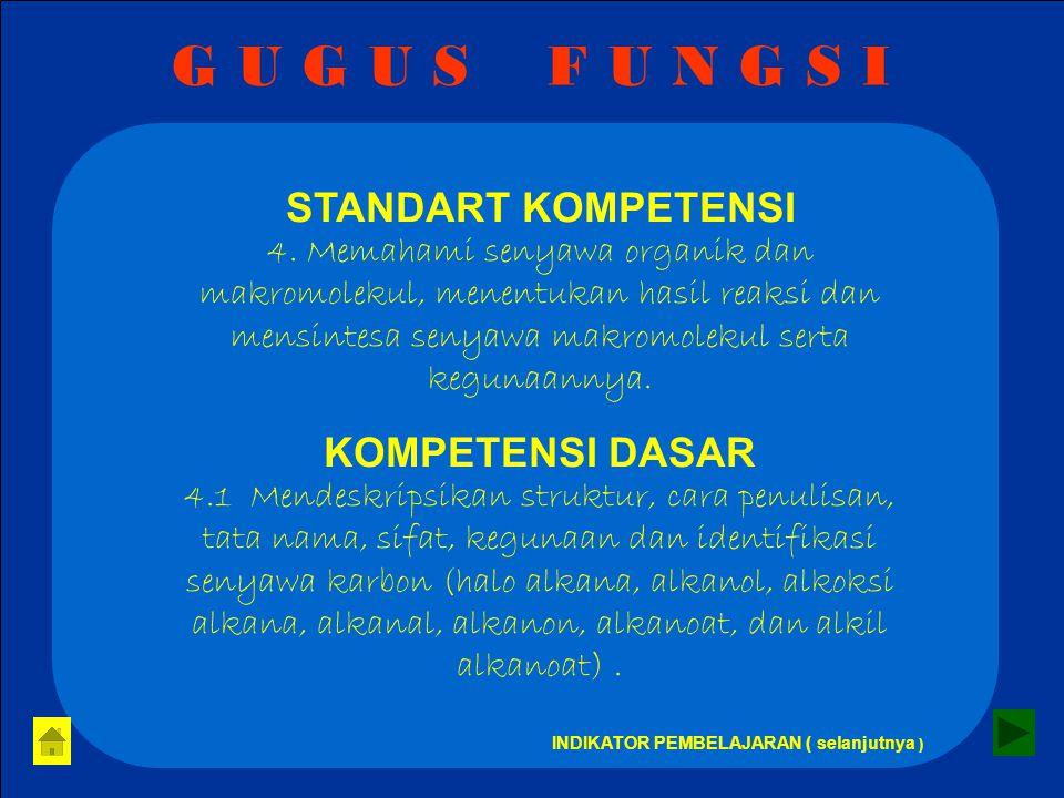 G U G U S F U N G S I STANDART KOMPETENSI 4.