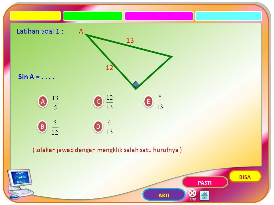 x y r A Cos A = x r Sec A = x r Sin A = r y Cosec A = r y Tan A = x y Cotan A = x y END elia-km.