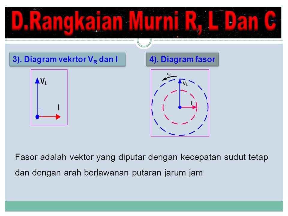 4).Diagram fasor 3).