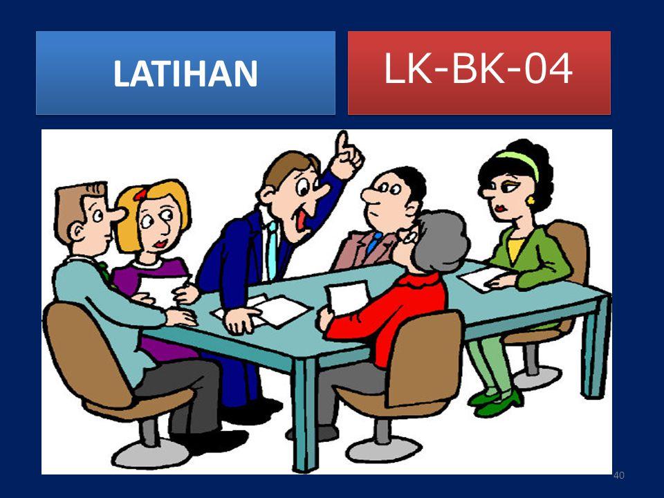 LATIHAN LK-BK-04 40