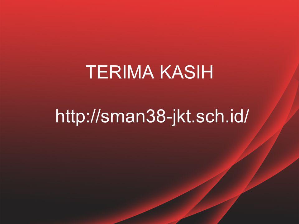 TERIMA KASIH http://sman38-jkt.sch.id/