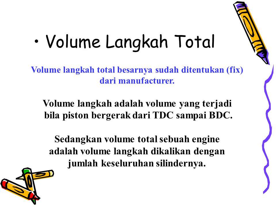 Kemampuan (performance) engine dipengaruhi oleh beberapa faktor, antara lain: 1. Displacement (volume langkah total) 2. Compression ratio 3. Efisiensi