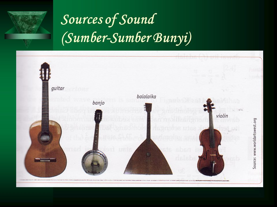 Sources of Sound (Sumber-Sumber Bunyi)