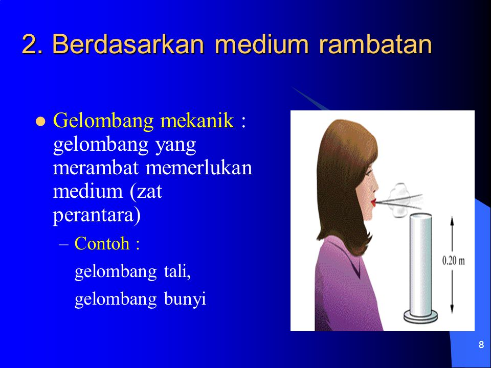 19 S  P v Fase titik P   p = t/T – x/ Persamaan gelompang di titik P yp = A sin 2  (t/T – x/ ) yp = A sin (2  t/T – 2  x/ )  jika k = 2  / maka : yp = A sin (  t – kx) x