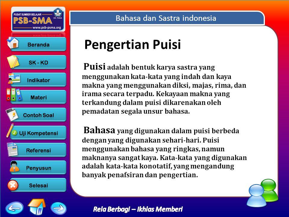 Bahasa dan Sastra indonesia Rela Berbagi – Ikhlas Memberi 12345