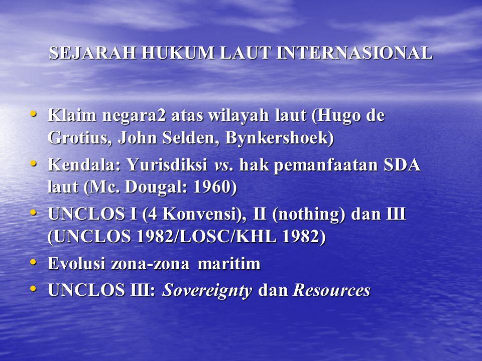PERAIRAN KEPULAUAN Kedaulatan Negara Kepulauan --TIDAK TAK TERBATAS Kedaulatan Negara Kepulauan --TIDAK TAK TERBATAS Dibatasi oleh Hak Lintas Kapal Asing Dibatasi oleh Hak Lintas Kapal Asing – Hak Lintas Damai – Hak Lintas ALK