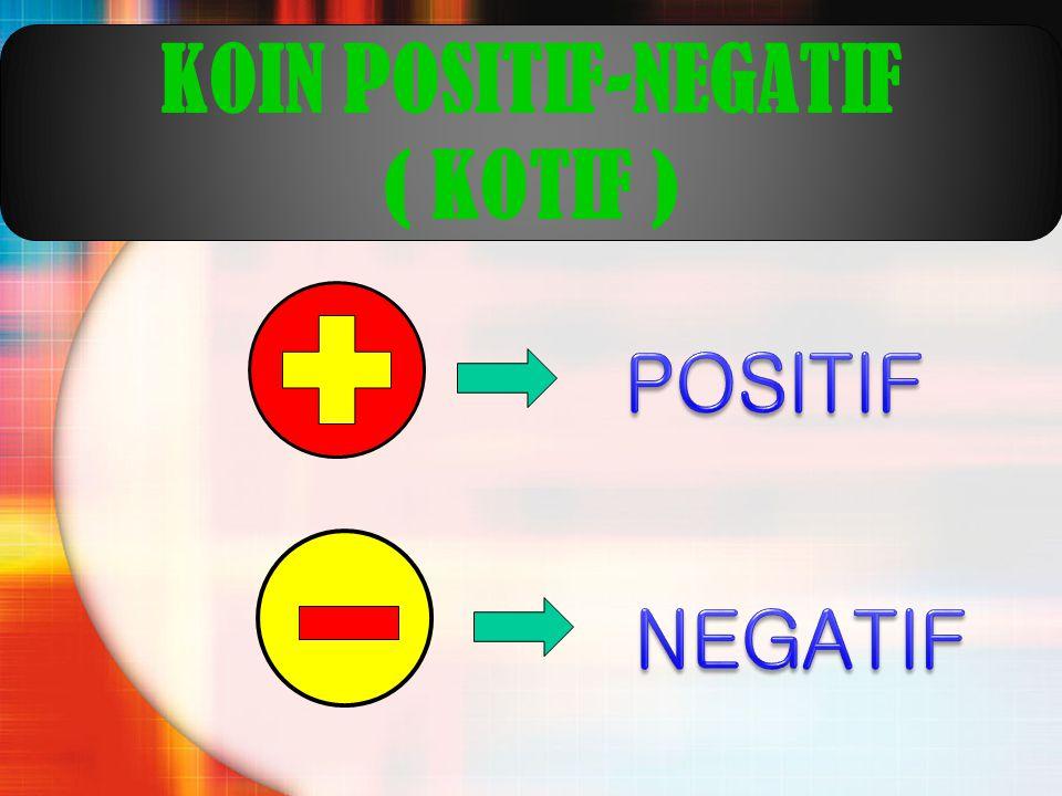 KOIN POSITIF-NEGATIF ( KOTIF )