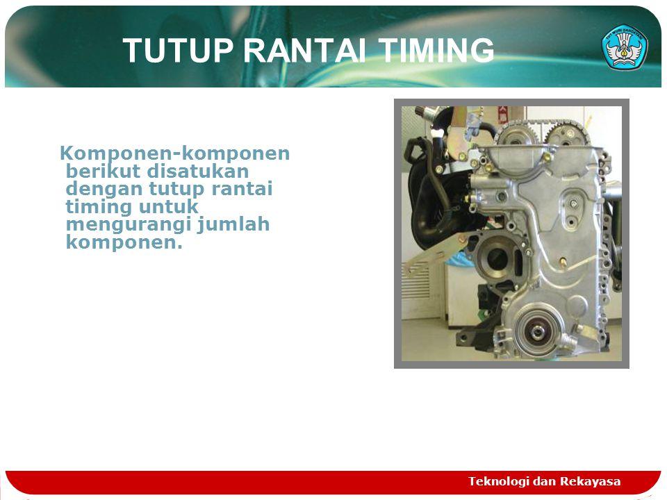 Teknologi dan Rekayasa Sistem VVT-i (Variabel Valve Timing- intelegent) Umum SSistem VVT-i dirancang untuk mengontrol intake camshaft pada rentang 45° (sudut crankshaft) untuk memberikan valve timing yang paling optimal untuk kodisi mesin.