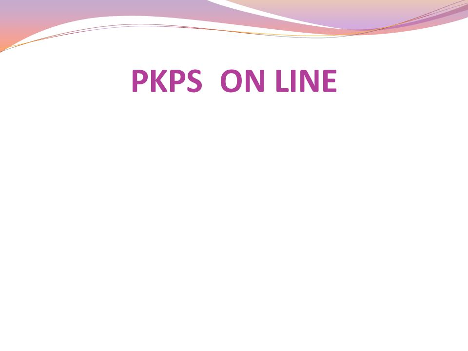 PKPS ON LINE