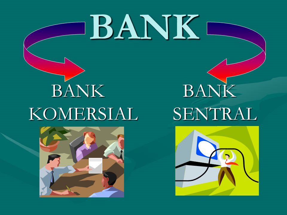 PENGERTIAN BANK KOMERSIAL BADAN USAHA YANG MENGHIMPUN DANA DARI MASYARAKAT DALAM BENTUK SIMPANAN DAN MENYALURKANNYA KEPADA MASYARAKAT DALAM BENTUK KREDIT DAN ATAU BENTUK LAINNYA DALAM RANGKA MENINGKATKAN TARAF HIDUP RAKYAT BANYAK (PASAL 1 (2) UU 10/1998)