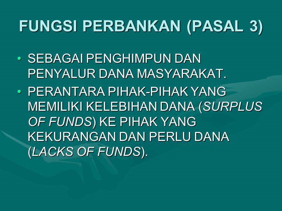 KEMANDIRIAN BANK INDONESIA (PASAL 4 (2) UU 3/2004) BANK INDONESIA ADALAH LEMBAGA NEGARA YANG INDEPENDEN DALAM MELAKSANAKAN TUGAS DAN WEWENANGNYA, BEBAS DARI CAMPUR TANGAN PEMERINTAH DAN/ATAU PIHAK LAIN, KECUALI UNTUK HAL-HAL YANG SECARA TEGAS DIATUR DALAM UU INI