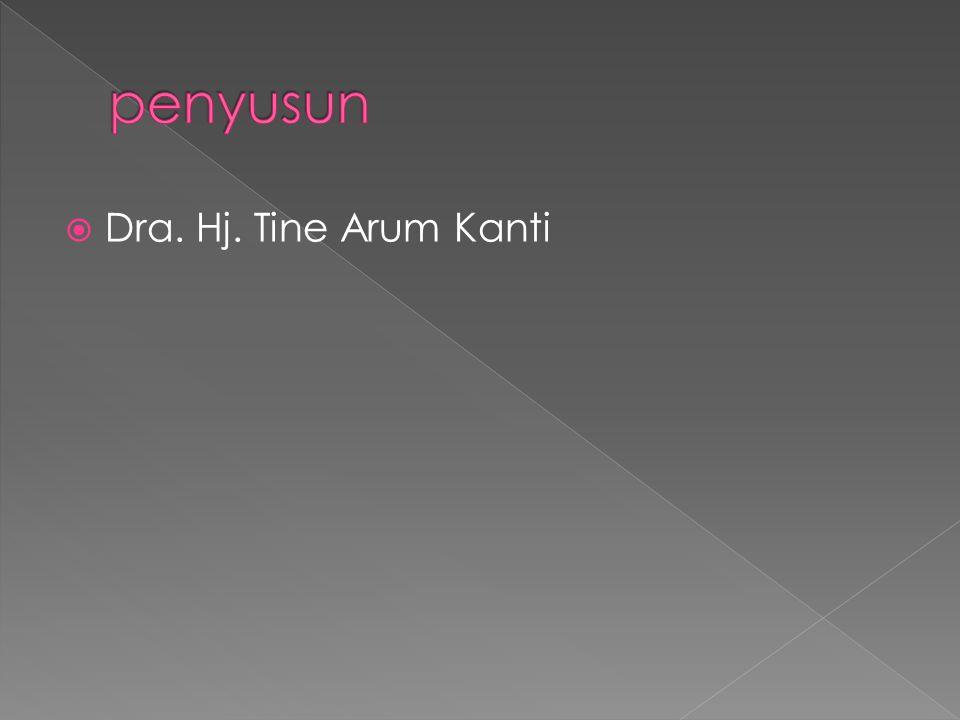  Dra. Hj. Tine Arum Kanti