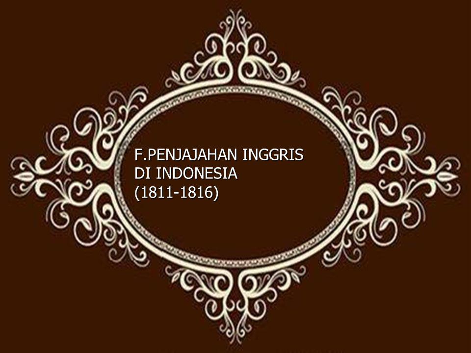 5.Bidang Ilmu Pengetahuan a. Ditulisnya buku berjudul History Of Java.