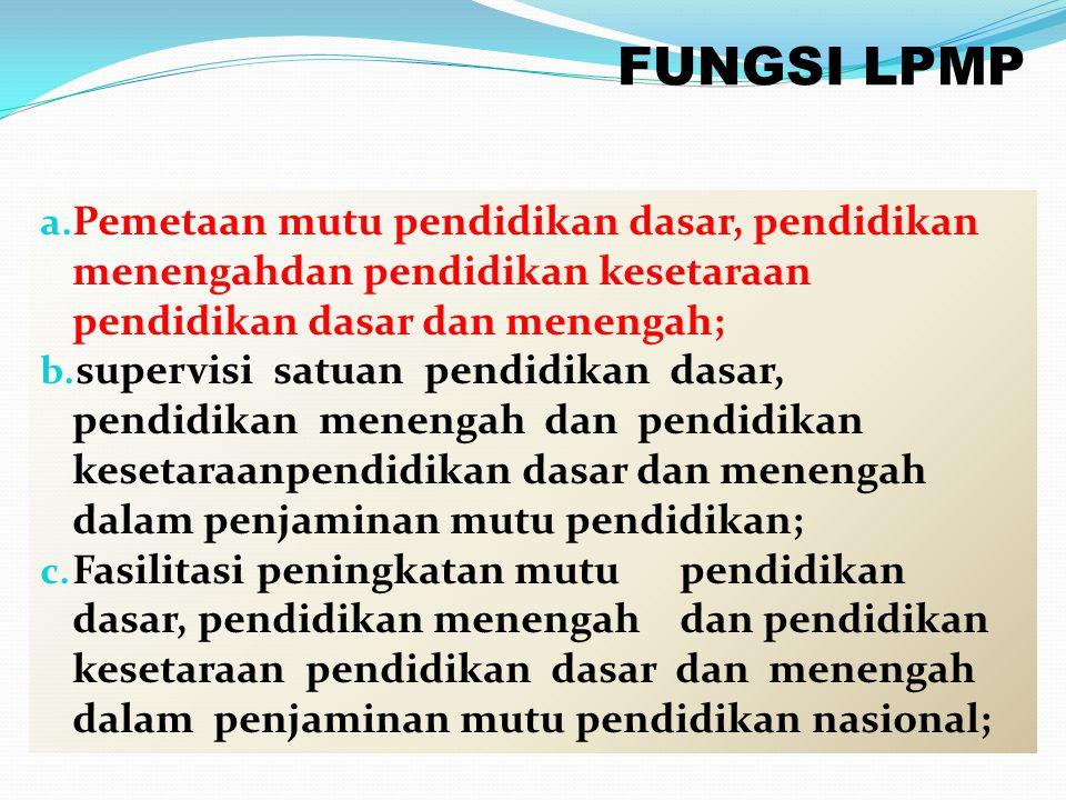 PANITIA PENYELENGGARA Dinas Pendidikan Kabupaten/Kota 1.