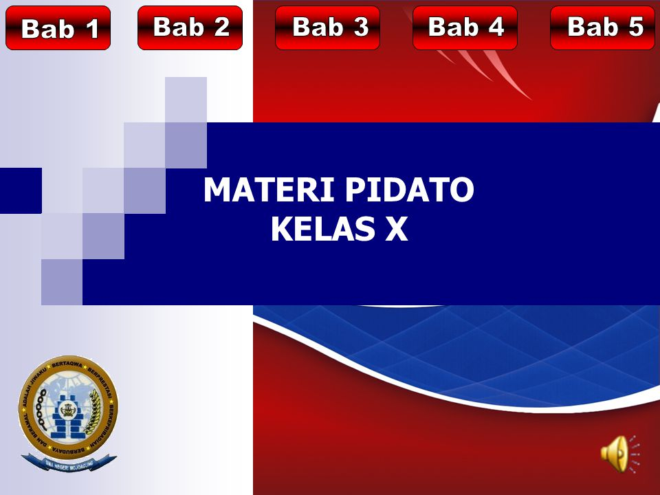 MATERI PIDATO KELAS X