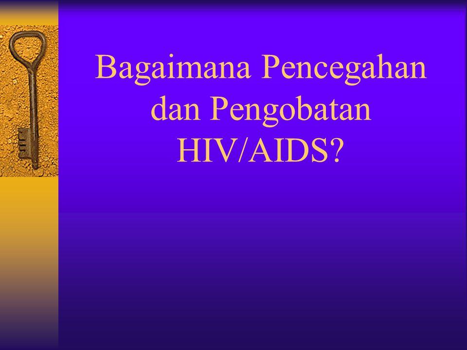 Tes HIV Terjadinya infeksi HIV dapat dideteksi dengan mengetes adanya zat anti atau disebut anti bodi terhadap HIV di dalam darah seseorang. Tes ini s