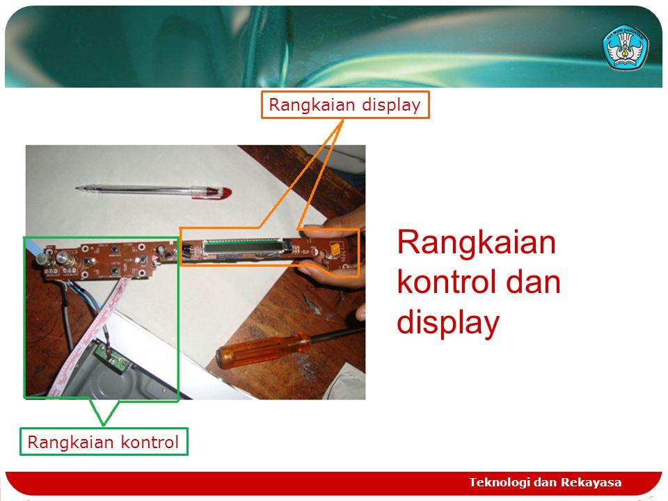 Teknologi dan Rekayasa Rangkaian kontrol dan display Rangkaian kontrol Rangkaian display