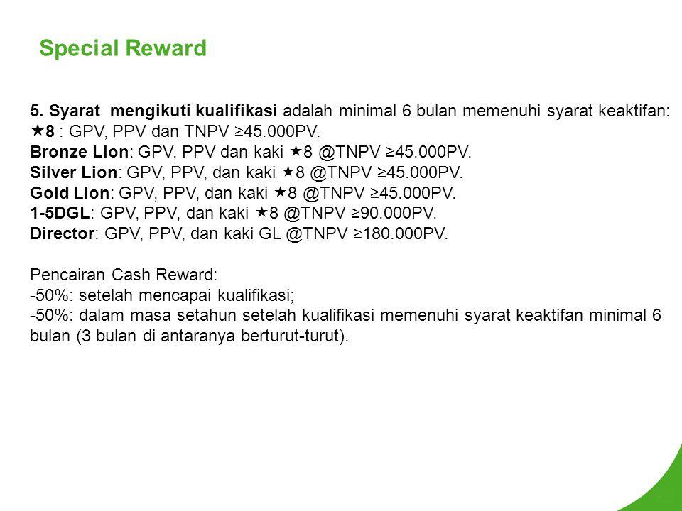 Special Reward 5.