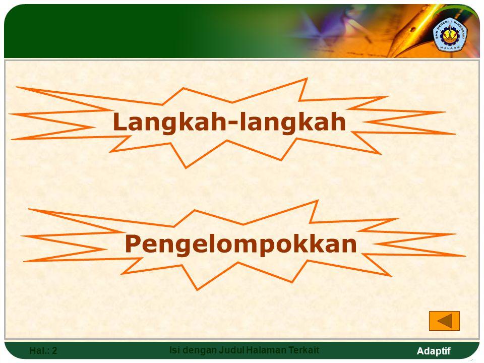 Adaptif Hal.: 32 Isi dengan Judul Halaman Terkait Arthropoda (hewan Berbuku- buku) Ciri-ciri: a.Tubuh bersegmen  kepala, dada, perut b.Tubuh bilateral simetris c.Kaki berbuku-buku d.Sistem peredaran darah terbuka e.Sistem saraf tangga tali f.Bermata tunggal atau majemuk g.4 kelas: serangga, udang-udangan, laba-laba, lipan Manfaat: a.Sumber makanan b.Menghasilkan madu atau obat c.Bahan baku benang d.Membantu penyerbukan tanaman