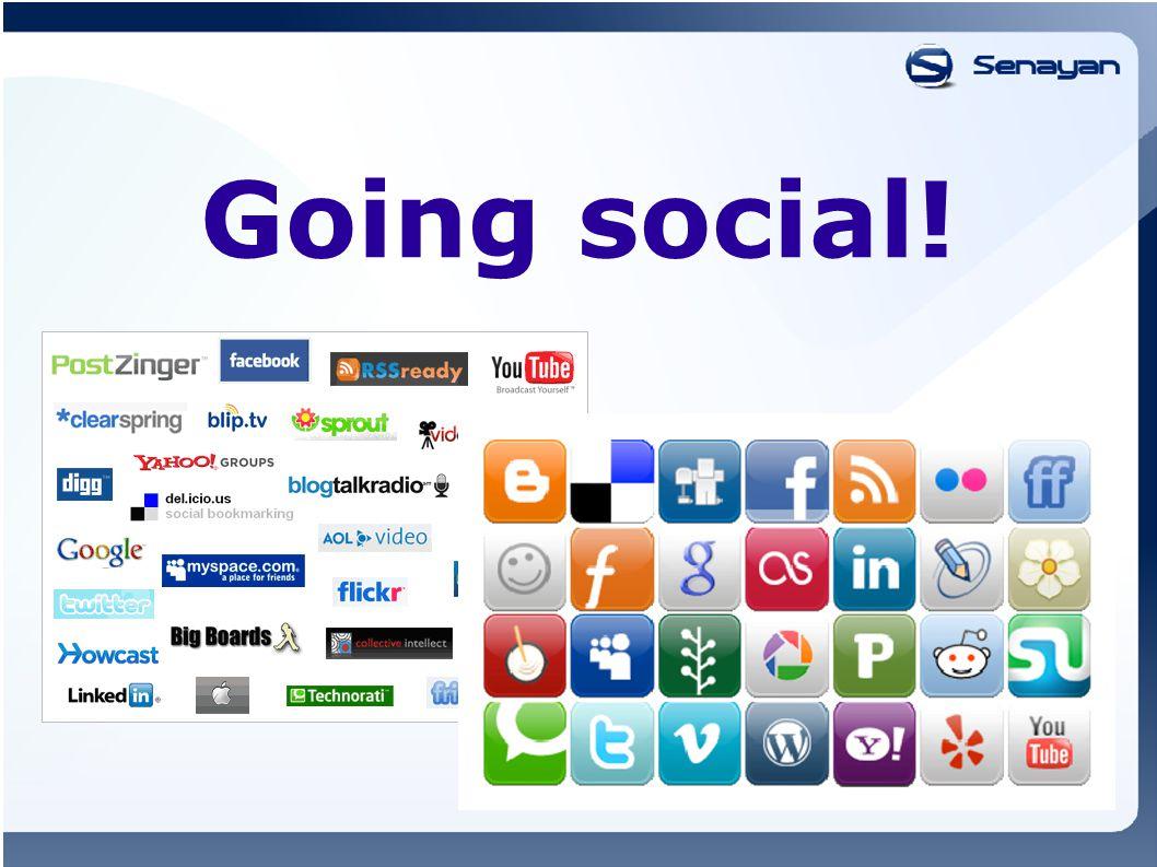 Going social!