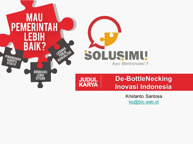 PERATURAN PEMERINTAH REPUBLIK INDONESIA NOMOR 20 TAHUN 2005 TENTANG ALIH TEKNOLOGI KEKAYAAN INTELEKTUAL SERTA HASIL KEGIATAN PENELITIAN DAN PENGEMBANGAN OLEH PERGURUAN TINGGI DAN LEMBAGA PENELITIAN DAN PENGEMBANGAN The Bottle-Neck DESKRIPSI MASALAH (3)