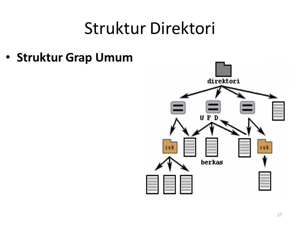 Struktur Direktori Struktur Grap Umum 27