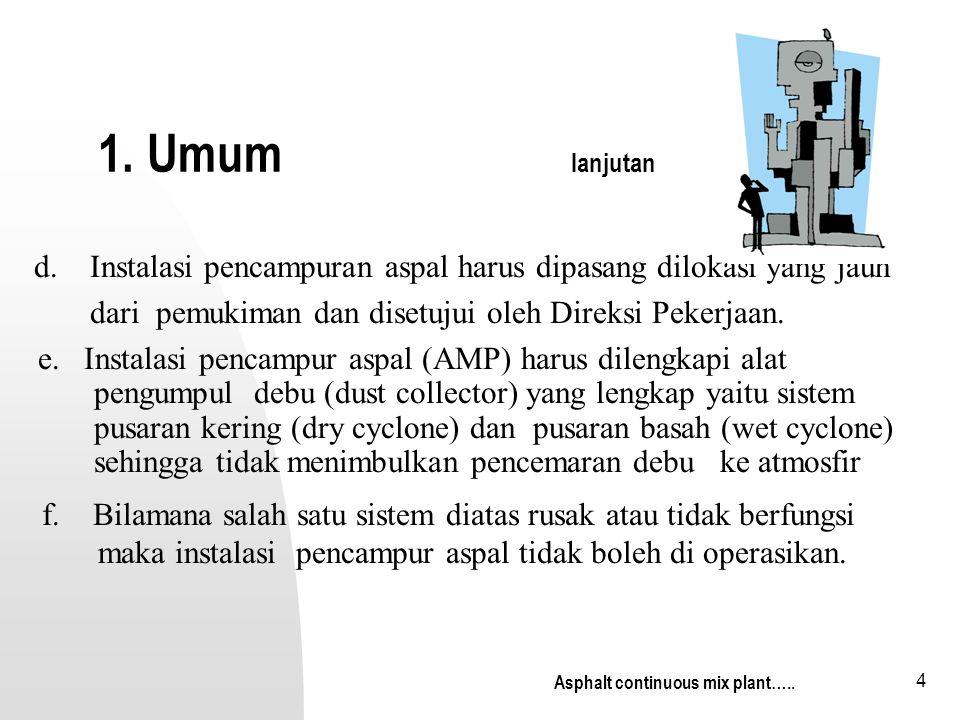 15 Type dr feeder Sumber asphalt institue (ms-3) Continuous belt feeder Reciprocating plate feeder Type dr feeder…….