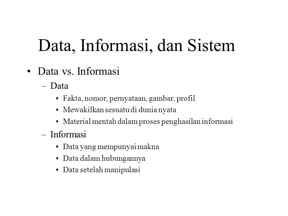 14 Kenapa belajar Sistem Informasi.
