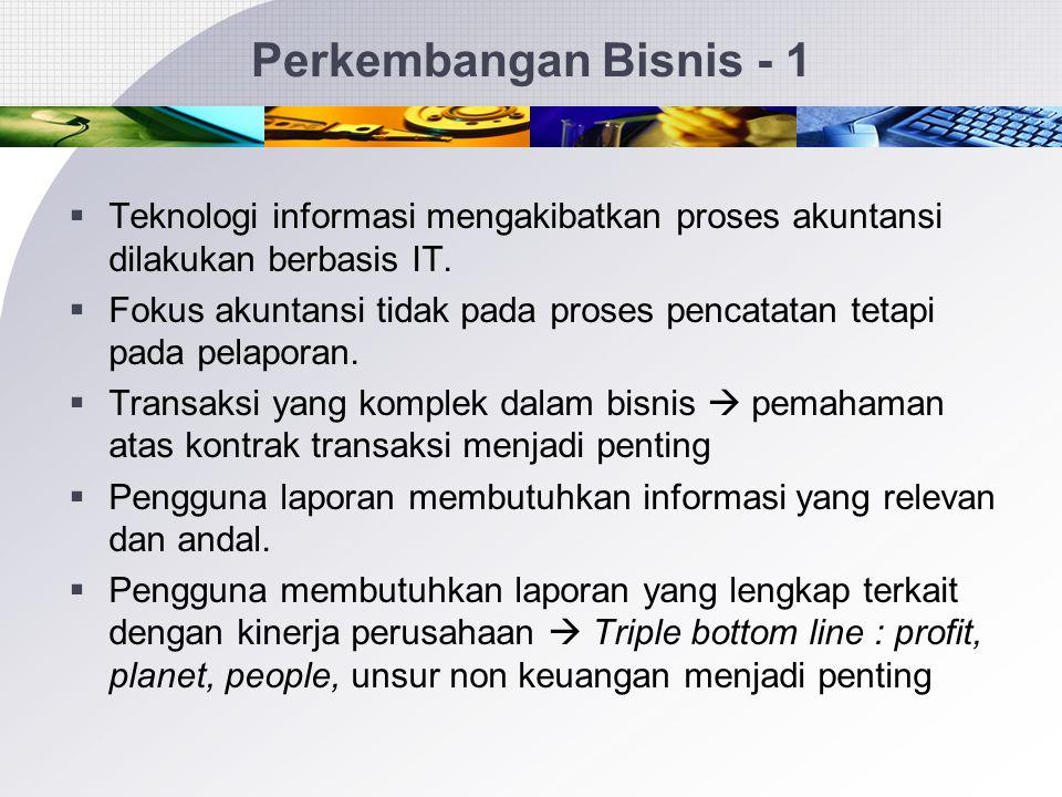 63 Perkembangan Bisnis dan Sektor Publik