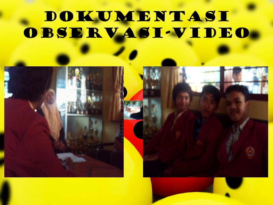 dokumentasi observasi-video