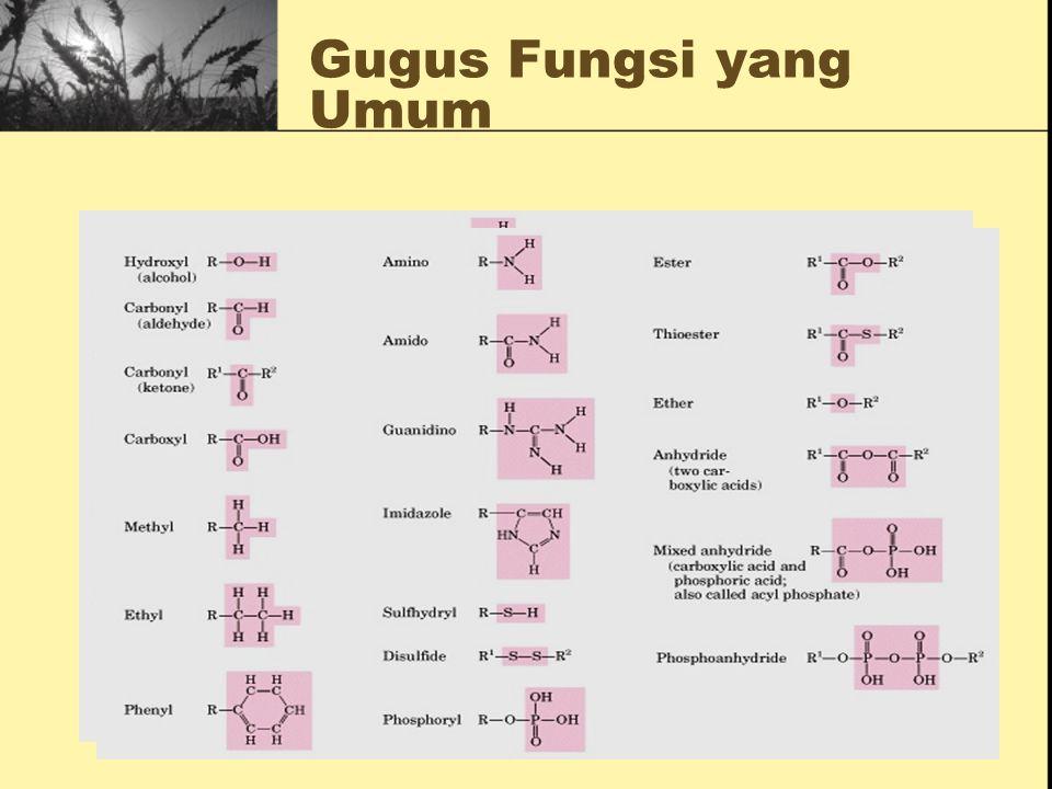Kekuatan beberapa ikatan kimia: Approx. Avg. Triple: 820 kJ/mole Double: 610 kJ/mole Single: 350 kJ/mole